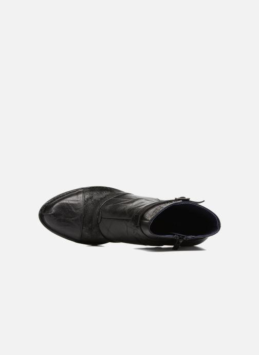 Boots en enkellaarsjes Dorking Dalma 7371 Zwart links