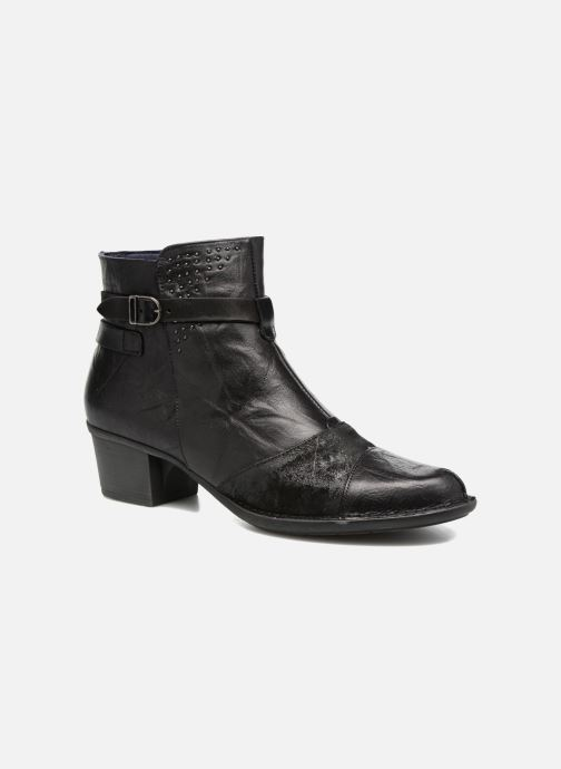 Boots en enkellaarsjes Dorking Dalma 7371 Zwart detail