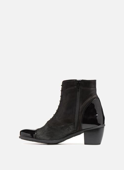 Bottines et boots Dorking Brisda 7255 Noir vue face