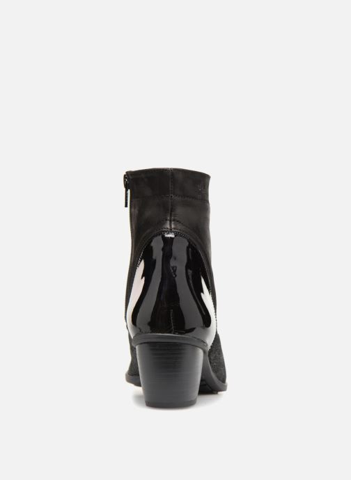 Bottines et boots Dorking Brisda 7255 Noir vue droite