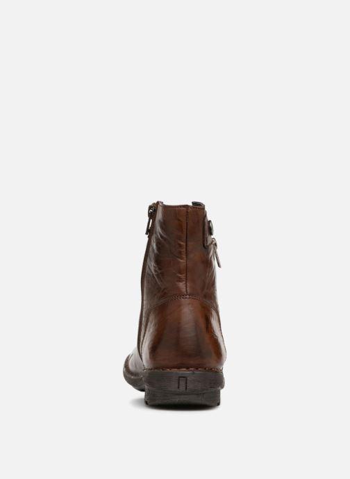 Bottines et boots Dorking Medina 7268 Marron vue droite