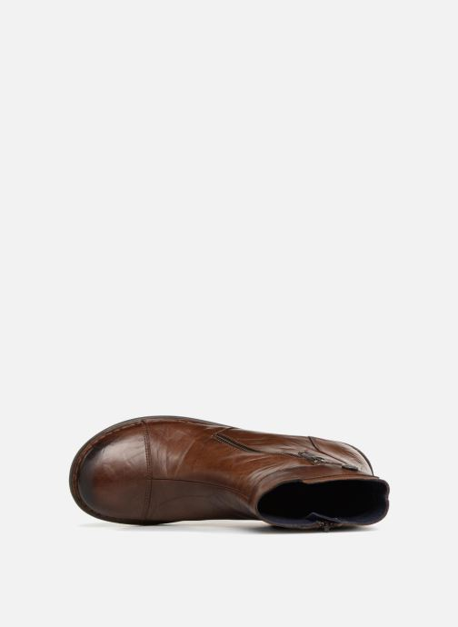 Bottines et boots Dorking Medina 7268 Marron vue gauche