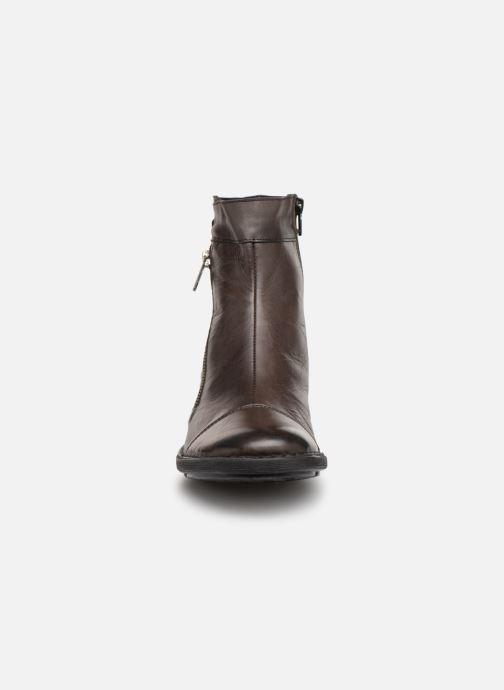 Bottines et boots Dorking Medina 7268 Marron vue portées chaussures