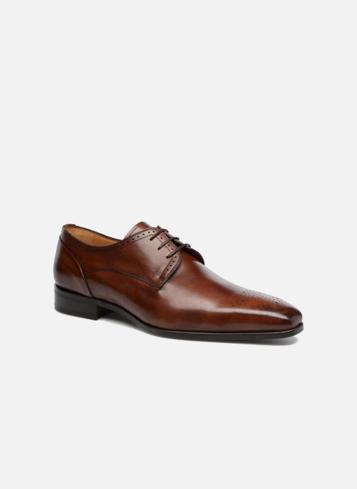 Lace-up shoes Marvin&Co Luxe Pietu - Cousu Blake Brown detailed view/ Pair view