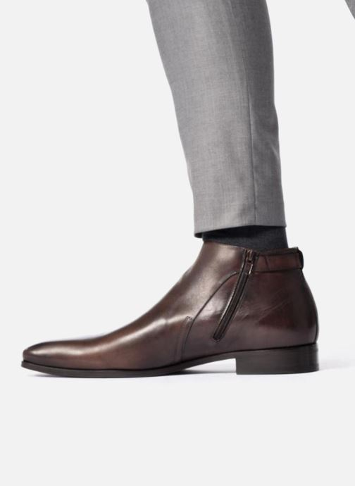 Ankle boots Marvin&Co Luxe Paddi - Cousu Blake Brown view from underneath / model view