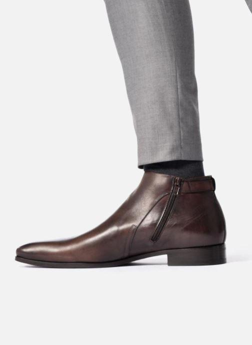 Bottines et boots Marvin&Co Luxe Paddi - Cousu Blake Marron vue bas / vue portée sac
