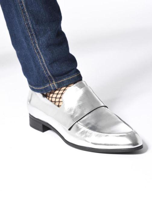 Mocasines Vagabond Shoemakers Frances 4406-083 Plateado vista de abajo
