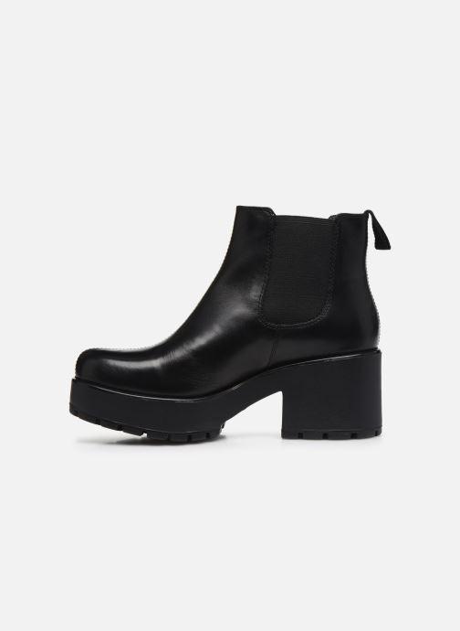 Bottines et boots Vagabond Shoemakers Dioon 4247-201 Noir vue face