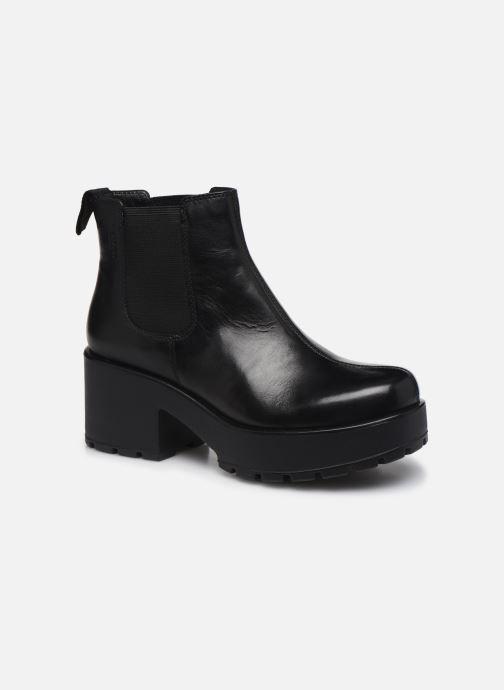 Boots en enkellaarsjes Vagabond Shoemakers Dioon 4247-201 Zwart detail