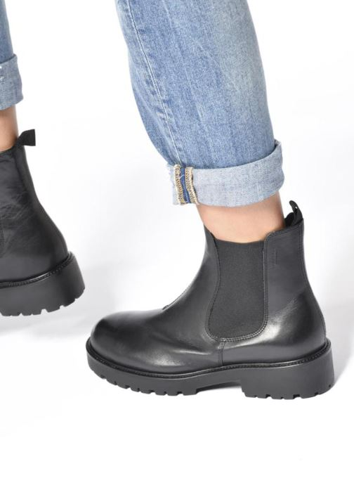 fed1c03c10 Ankle boots Vagabond Shoemakers Kenova 4441-701 Black view from underneath    model view