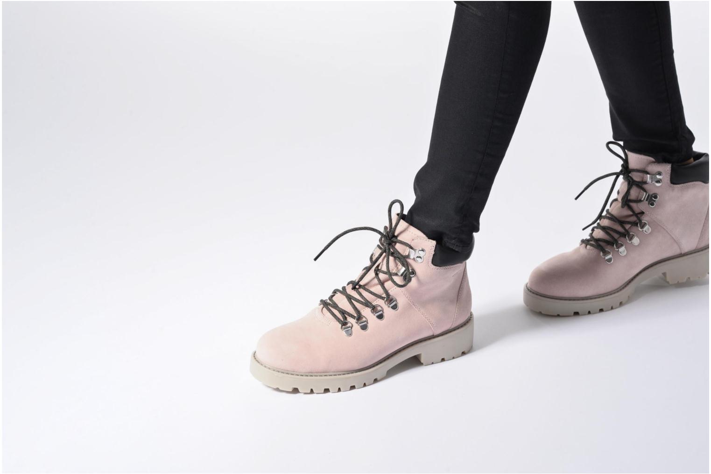 Bottines et boots Vagabond Shoemakers Kenova 4457-040 Rose vue bas / vue portée sac