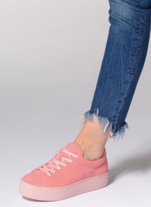Sneaker Vagabond Shoemakers Jessie 4424-040 beige ansicht von unten / tasche getragen