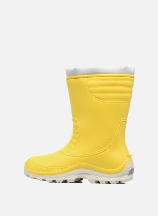 Boots & wellies SARENZA POP VIFOURRE Yellow front view