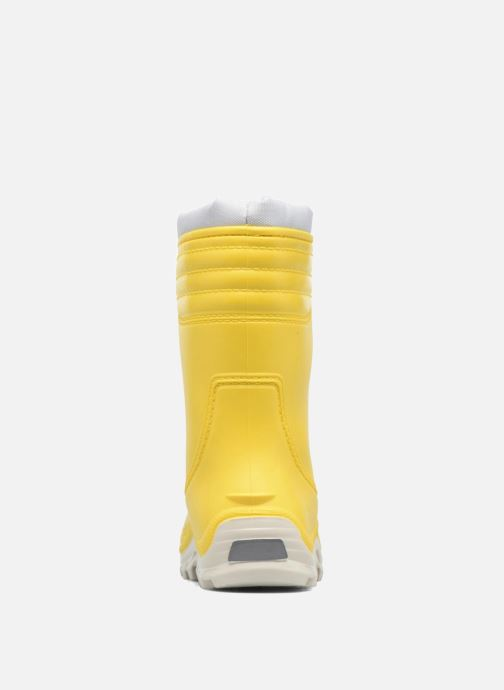 Boots & wellies SARENZA POP VIFOURRE Yellow view from the right