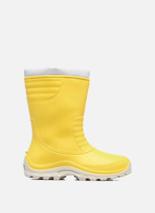 Boots & wellies SARENZA POP VIFOURRE Yellow back view