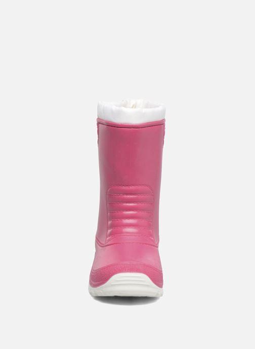 Bottes SARENZA POP VIFOURRE Rose vue portées chaussures