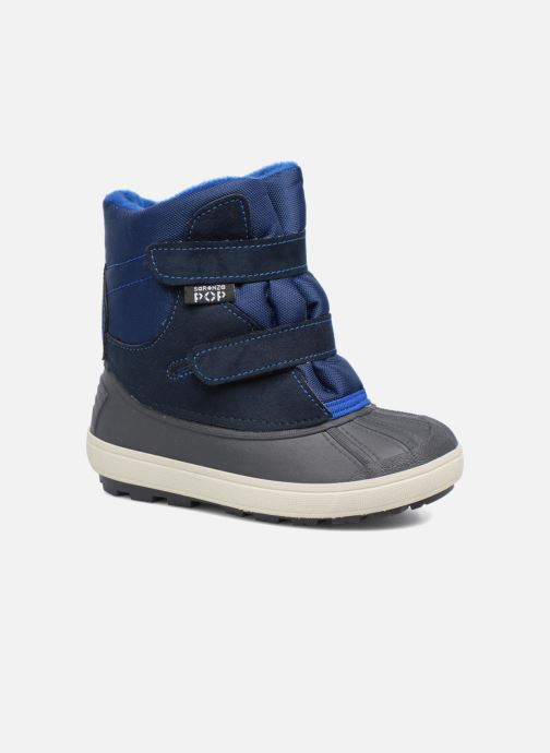 Sportssko SARENZA POP VISNOW Blå detaljeret billede af skoene