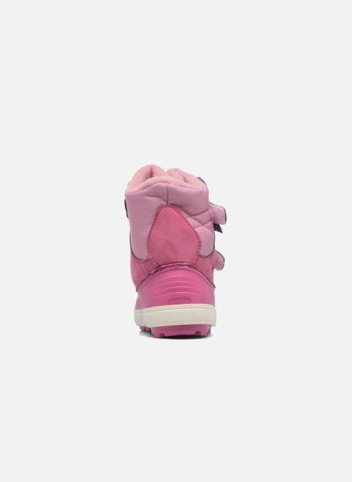 Zapatillas de deporte SARENZA POP VISNOW Rosa vista lateral derecha