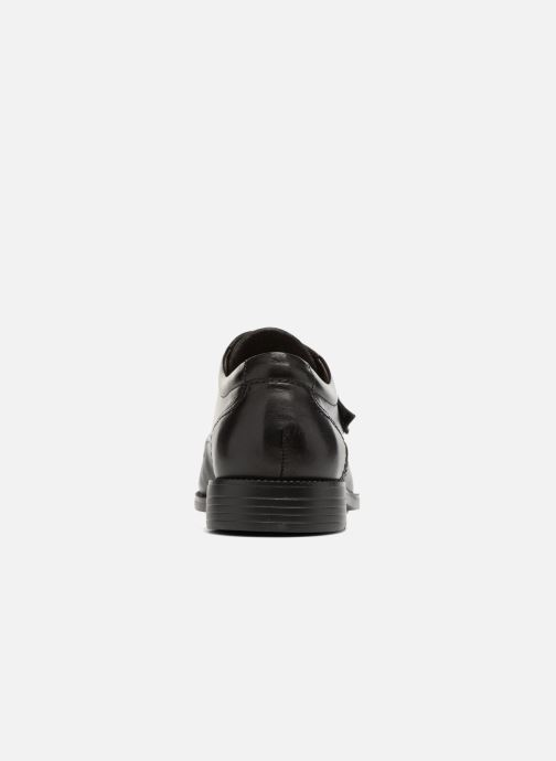 Zapatos con velcro Fluchos Rafael 7999 Negro vista lateral derecha