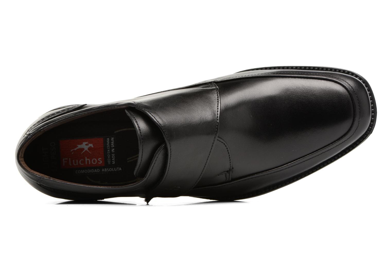 Chaussures à scratch Fluchos Rafael 7999 Noir vue gauche