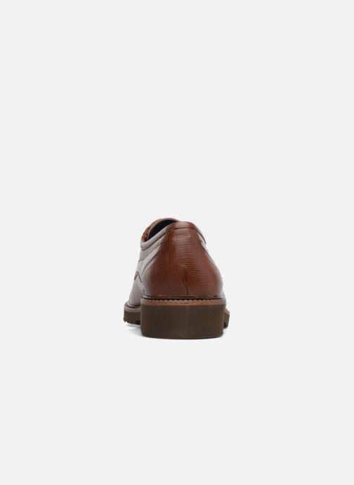 Zapatos con cordones Fluchos Cavalier 9527 Marrón vista lateral derecha