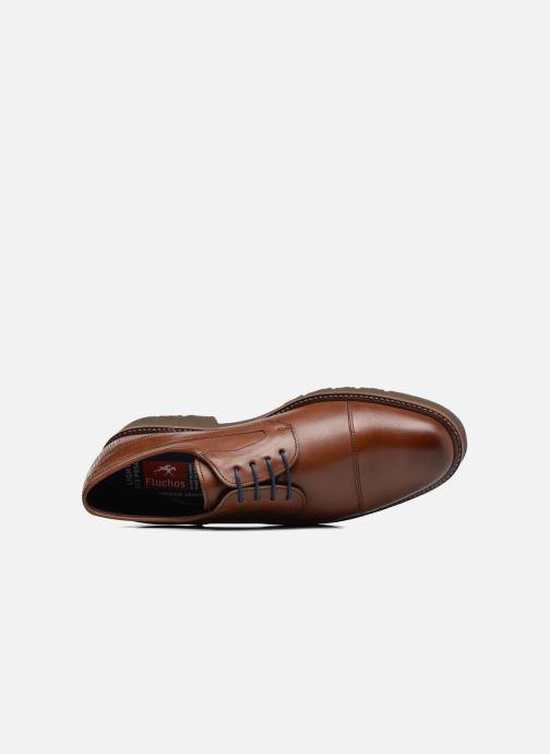 Zapatos con cordones Fluchos Cavalier 9527 Marrón vista lateral izquierda