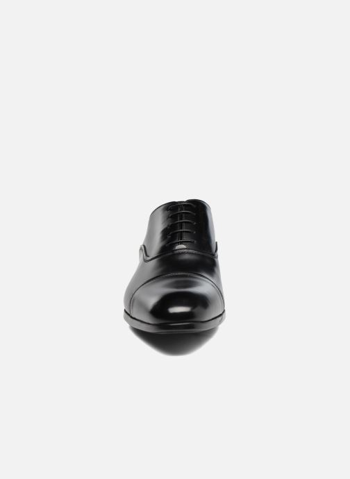 Lace-up shoes Doucal's Oscar Black model view