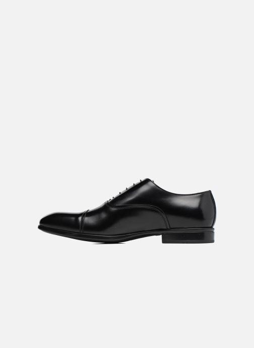 Lace-up shoes Doucal's Oscar Black front view