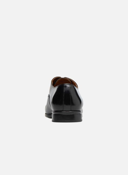 Chaussures à lacets Doucal's Oscar Noir vue droite