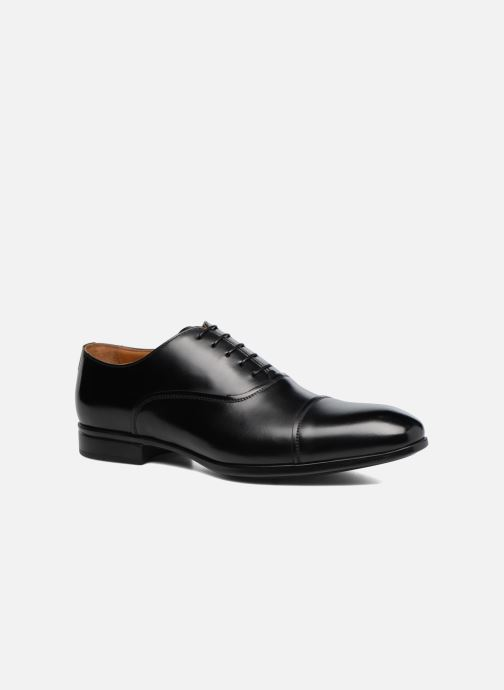 Lace-up shoes Doucal's Oscar Black detailed view/ Pair view