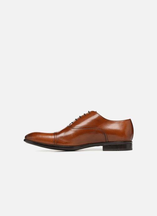 Zapatos con cordones Doucal's Oscar Marrón vista de frente