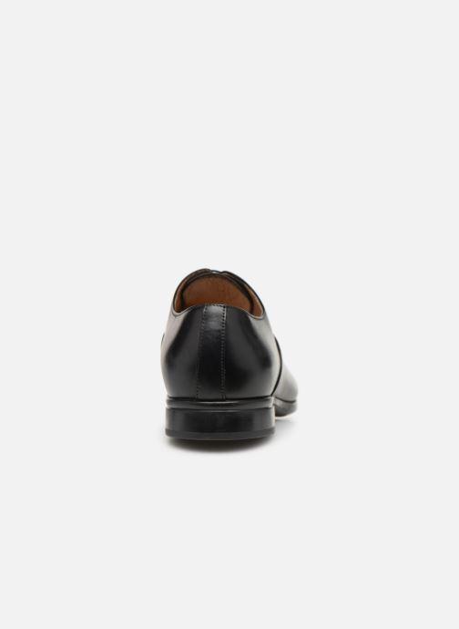 Snörade skor Doucal's Oscar Svart Bild från höger sidan