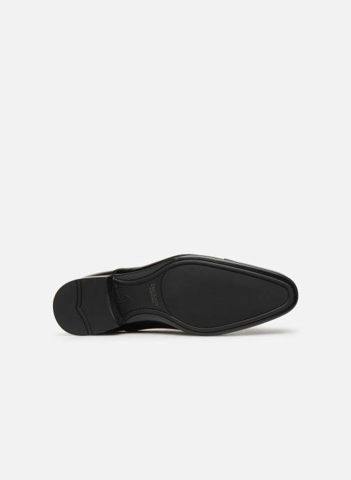 Chaussures à lacets Doucal's Oscar Noir vue haut