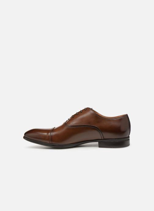 Chaussures à lacets Doucal's Oscar Marron vue face