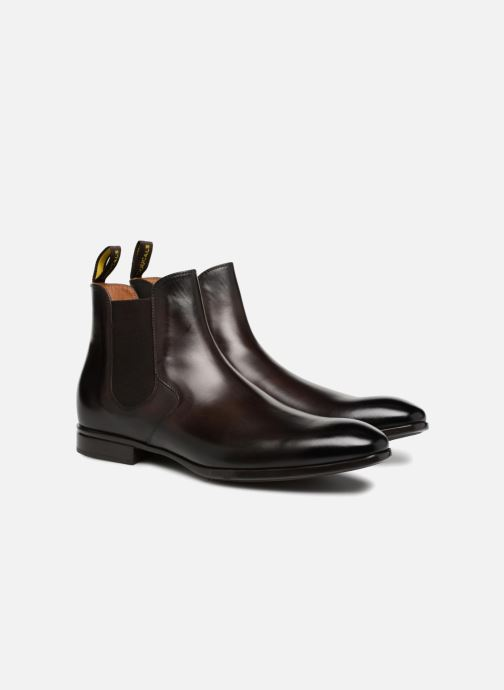 Bottines et boots Doucal's Octave Marron vue 3/4