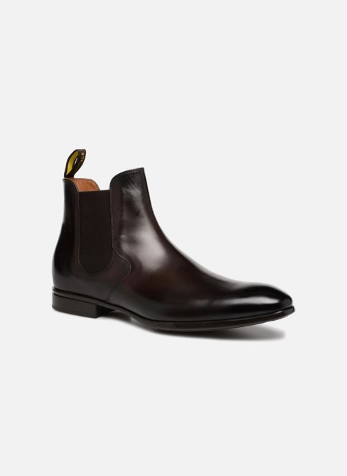 Boots en enkellaarsjes Doucal's Octave Bruin detail