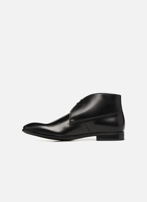 Zapatos con cordones Doucal's Orlando Negro vista de frente
