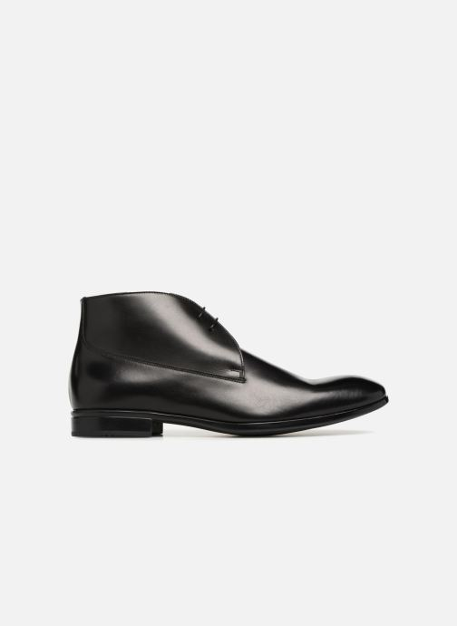 Zapatos con cordones Doucal's Orlando Negro vistra trasera
