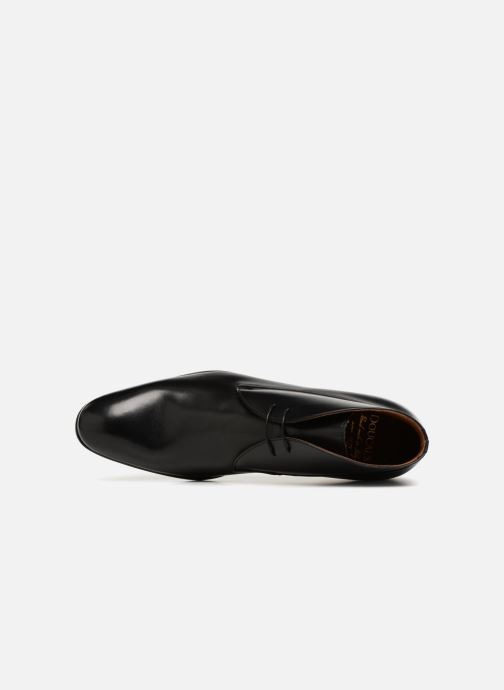 Zapatos con cordones Doucal's Orlando Negro vista lateral izquierda