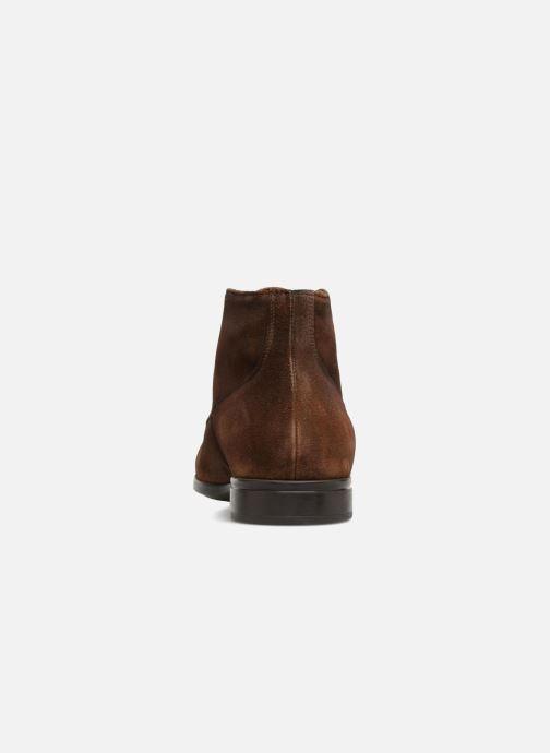 Chaussures à lacets Doucal's Orlando Marron vue droite