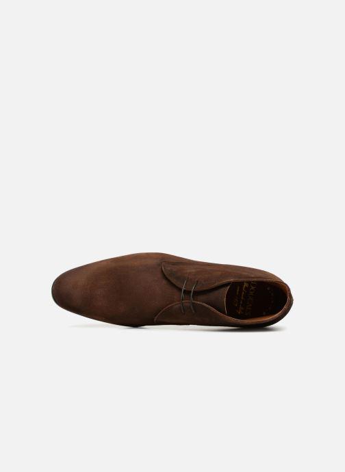Scarpe con lacci Doucal's Orlando Marrone immagine sinistra