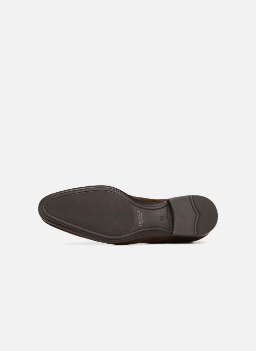 Chaussures à lacets Doucal's Orlando Marron vue haut