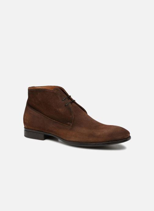 Snøresko Doucal's Orlando Brun detaljeret billede af skoene