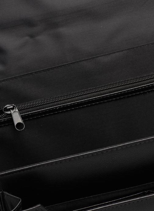 Laptoptaschen Cristo Cartable 2 Soufflets Cuir Metropole schwarz ansicht von hinten