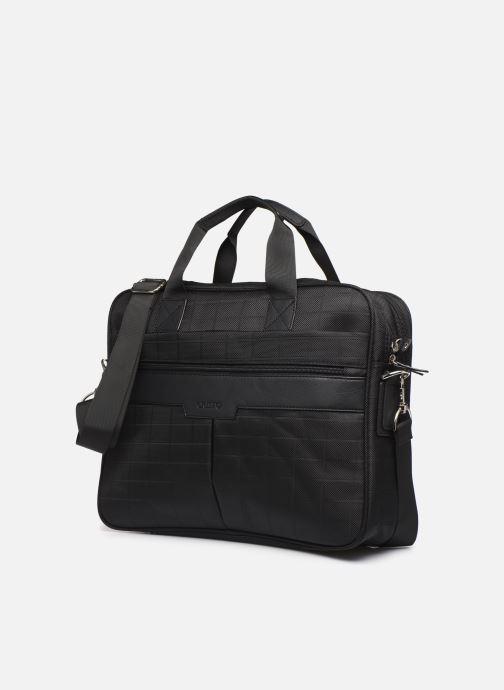Laptoptaschen Cristo Sacoche Ordinateur à 2 soufflets 15' schwarz schuhe getragen