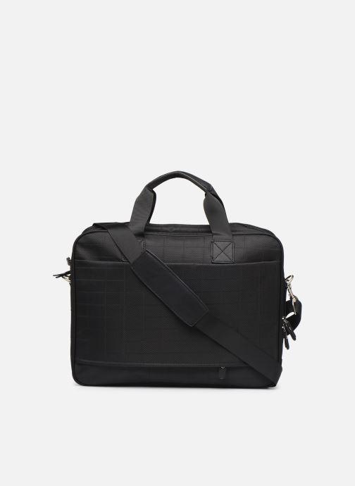 Laptoptaschen Cristo Sacoche Ordinateur à 2 soufflets 15' schwarz ansicht von vorne
