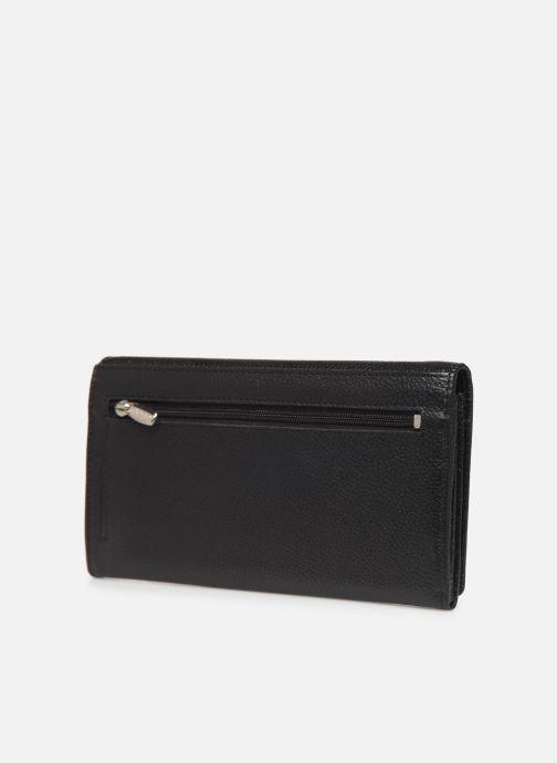 Portemonnaies & Clutches Cristo Portefeuille Cuir schwarz ansicht von rechts