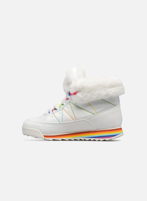 Bottines et boots Rocket Dog Icee Blanc vue face
