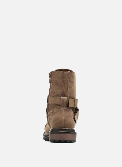 Ankle boots Rocket Dog Lacey Brown view from the right