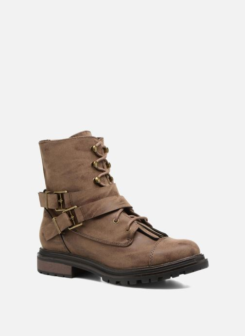 Bottines et boots Rocket Dog Lacey Marron vue détail/paire